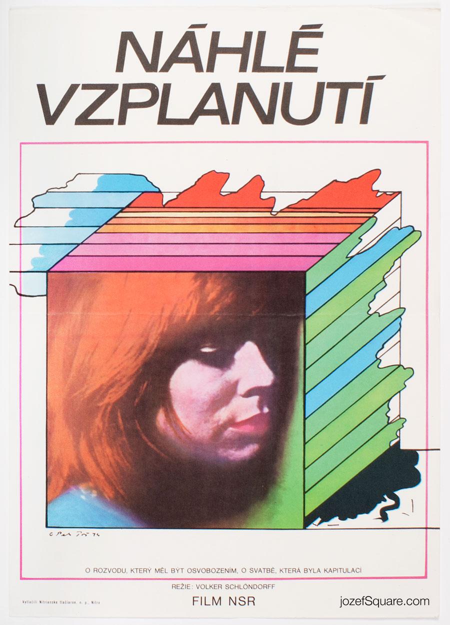 Movie Poster, Free Woman, Petr Pos
