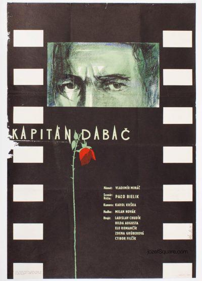 Movie Poster, Captain Dabac, Rudolf Altrichter, 50s Cinema Art