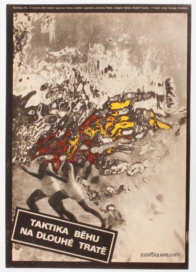 Movie Poster, Long-Distance Running Tactics, Zdenek Vlach