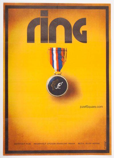 Movie Poster, Ring, Zdenek Vlach