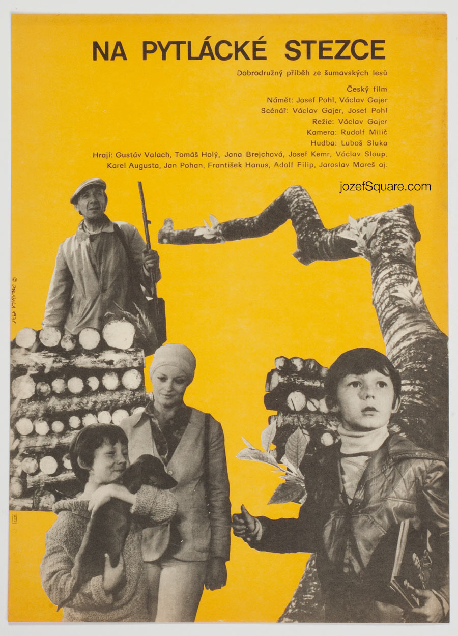 Movie Poster, On the Porcher's Path, Petr Chalabala