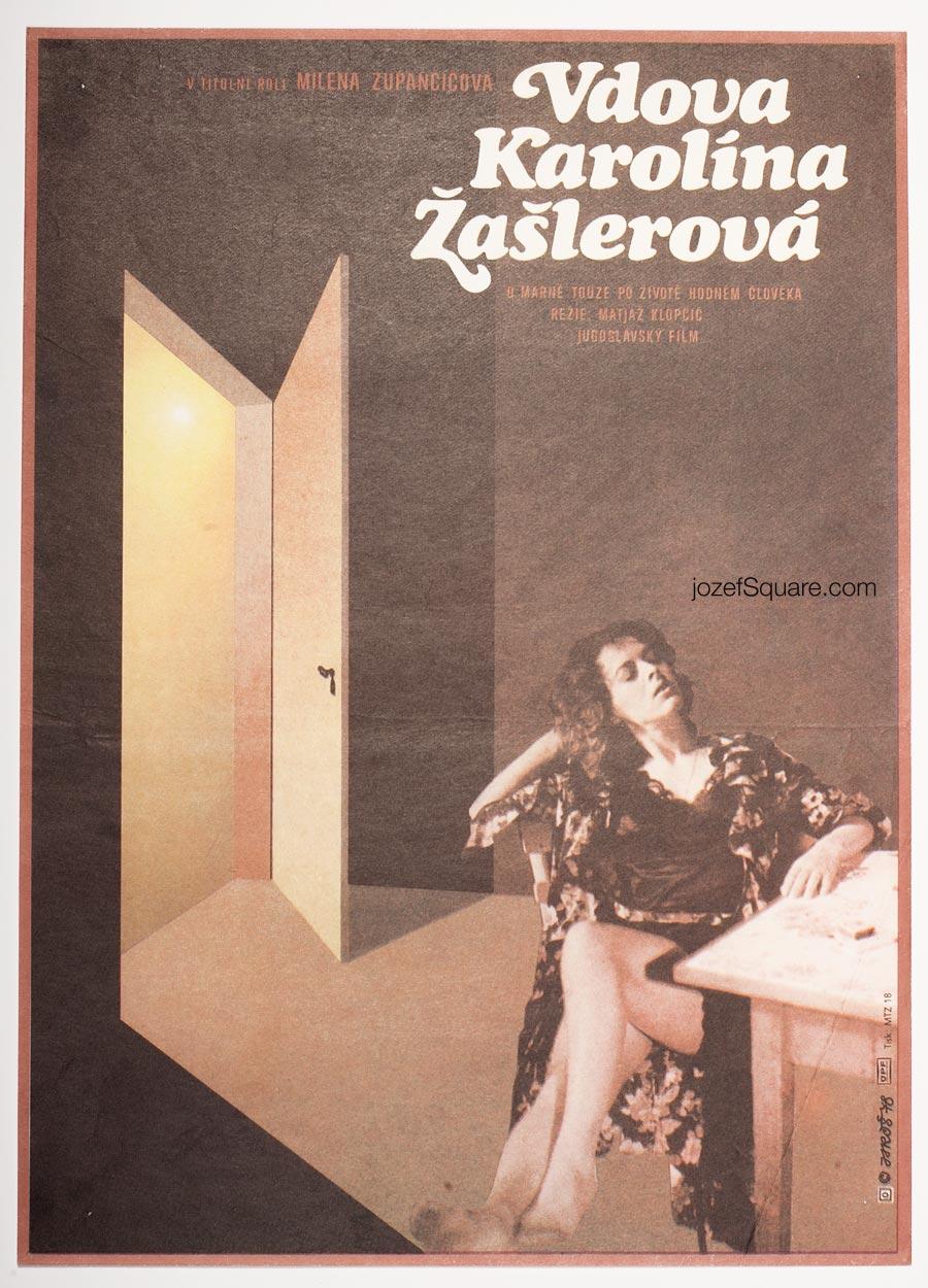 Movie Poster, Widowhood of Karolina Zasler, Alexej Jaros