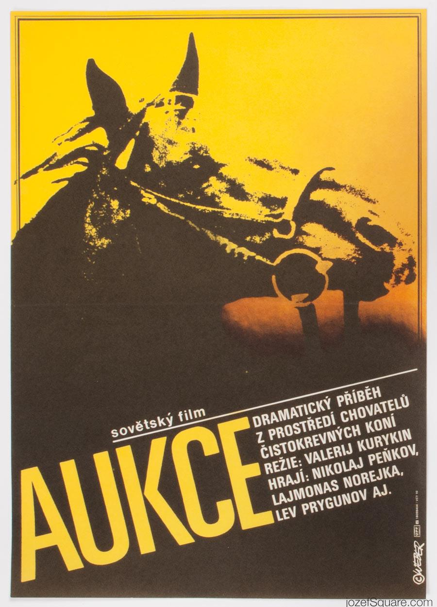 Movie Poster, Auction, Jan Weber, 80s Cinema Art