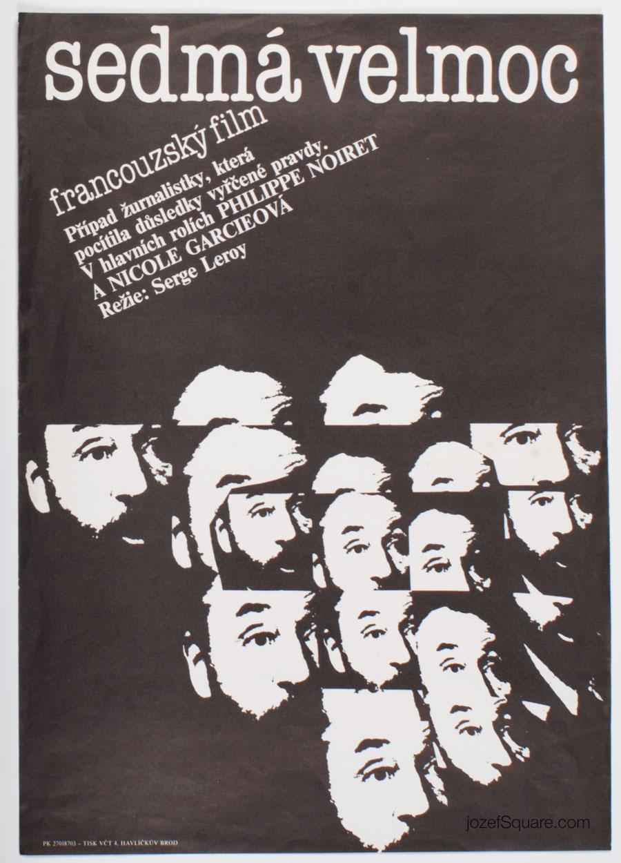 Movie Poster, Fourth Power, Jan Weber, 1988