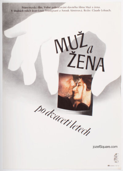 Movie Poster, A Man and a Woman 20 Years Later, Martin Dyrynk