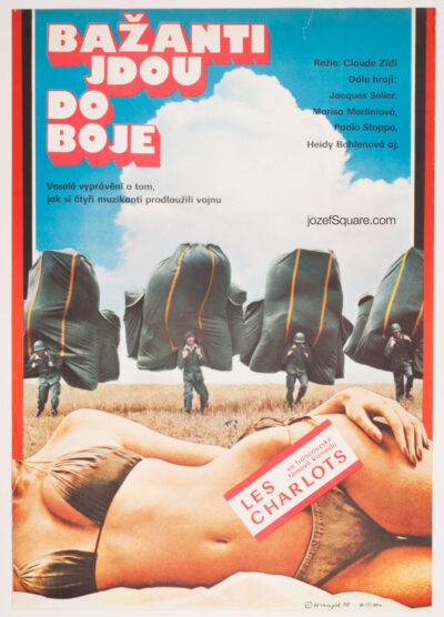 Movie Poster, Sadsacks Go to War, Petr Hampl
