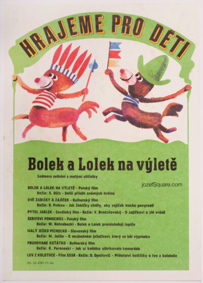 Movie Poster, Lolek and Bolek on Trip, Petr Pos