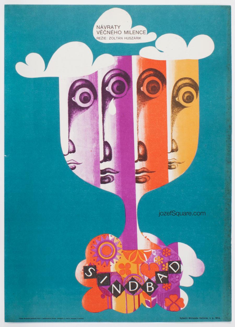Movie Poster - Sindbad, Rudolf Altrichter, 70s Cinema Art