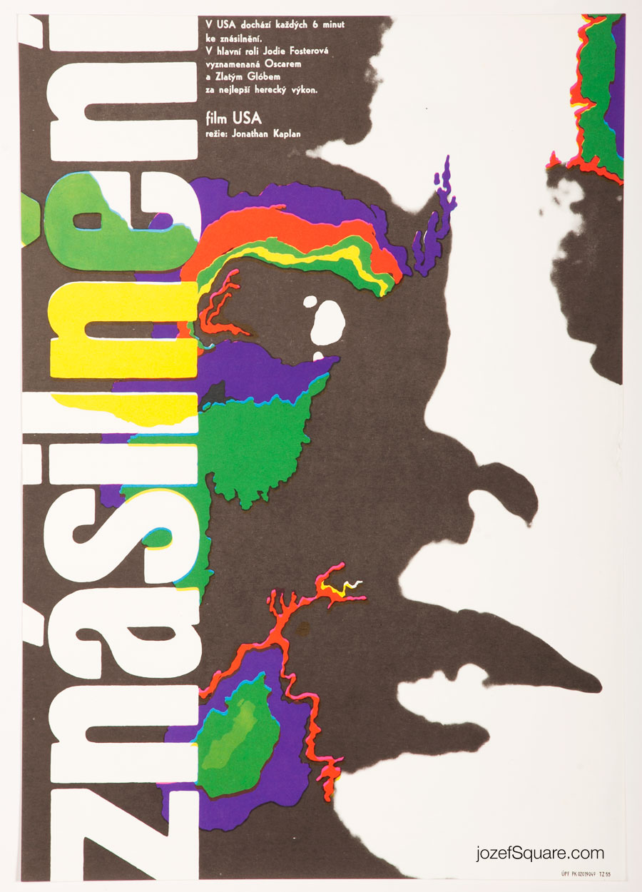 Abstract Movie Poster , Accused, Unknown Artist