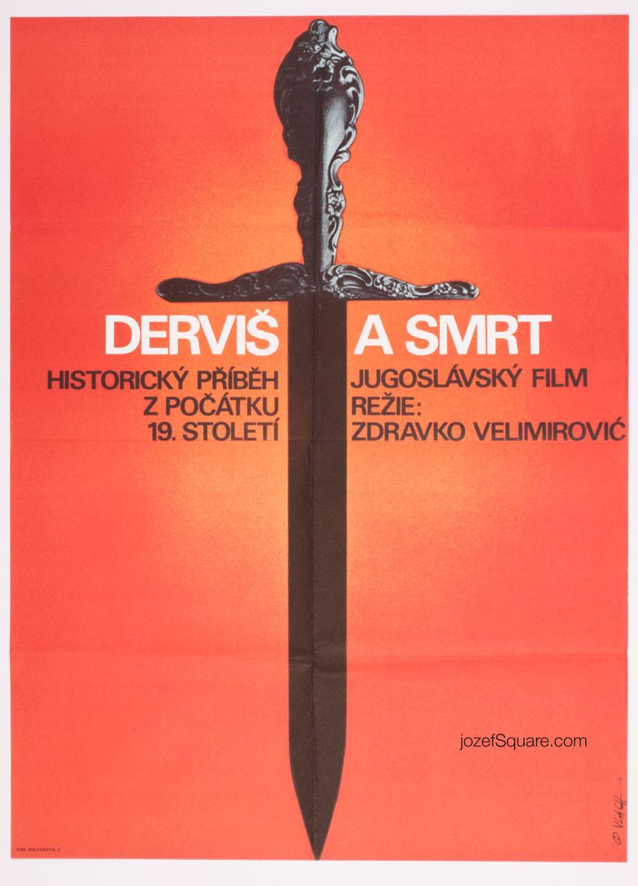 Movie Poster, Dervish and Death, Zdenek Vlach