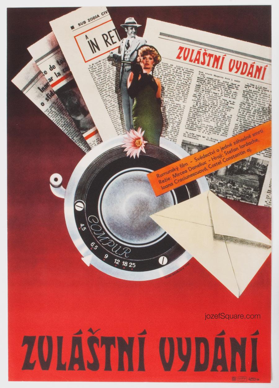 Movie Poster, Special Issue, Alena Nievaldova
