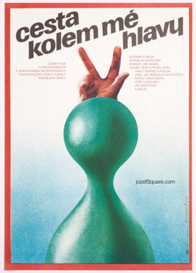 Movie Poster, The Journey All Around My Head, Alexej Jaros