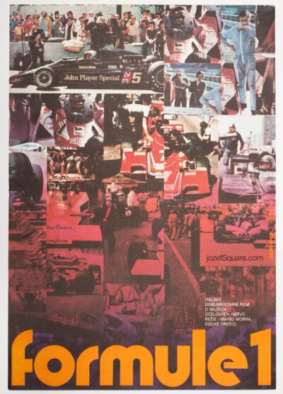 Movie Poster, Speed Fever, Jan Tomanek