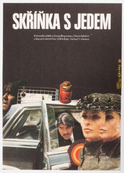 Movie Poster, Killing Me Softly, Miroslav Hlavacek