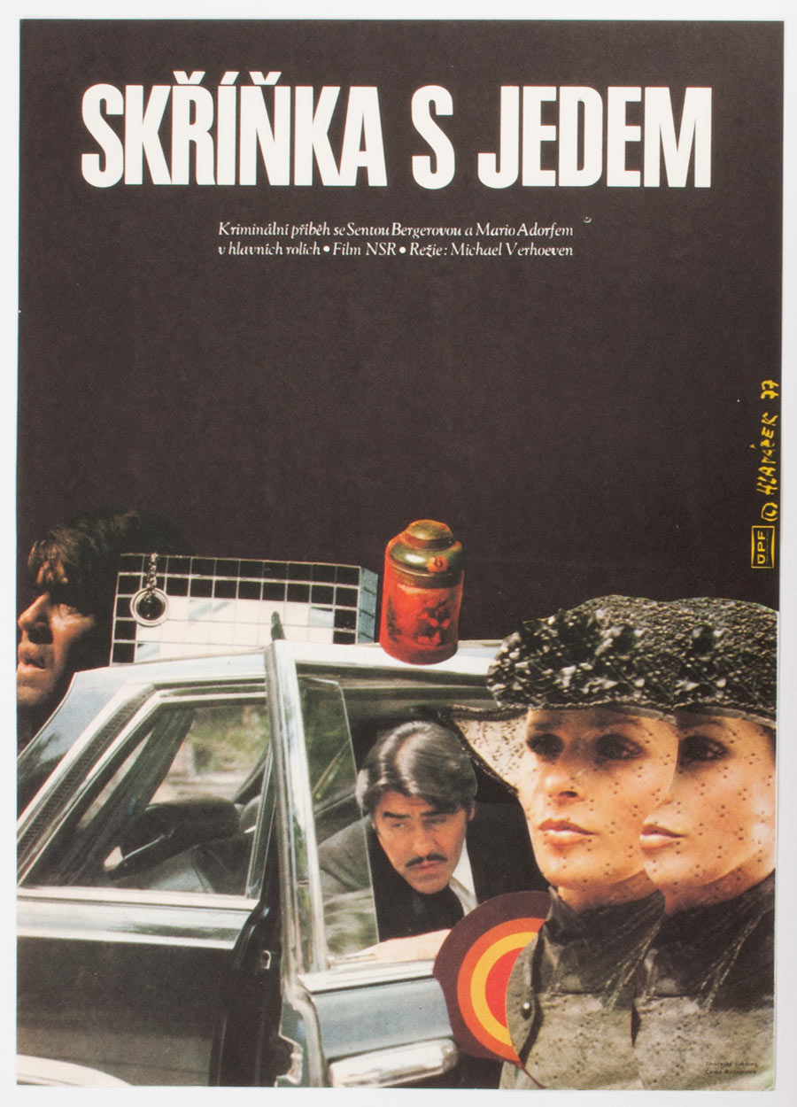 Movie Poster, Killing Me Softly, Miroslav Hlavacek