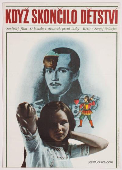 Movie Poster,One Hundred Days After Childhood, Miroslav Pechanek