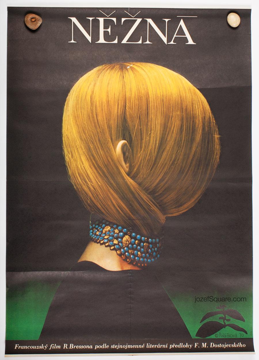 Movie Poster, A Gentle Creature, Olga Polackova-Vyletalova, 1970