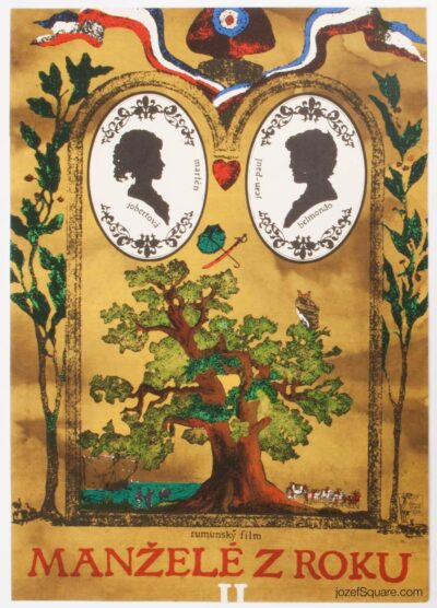 Movie Poster, Jean-Paul Belmondo, The Scoundrel, Tomas Pisecky