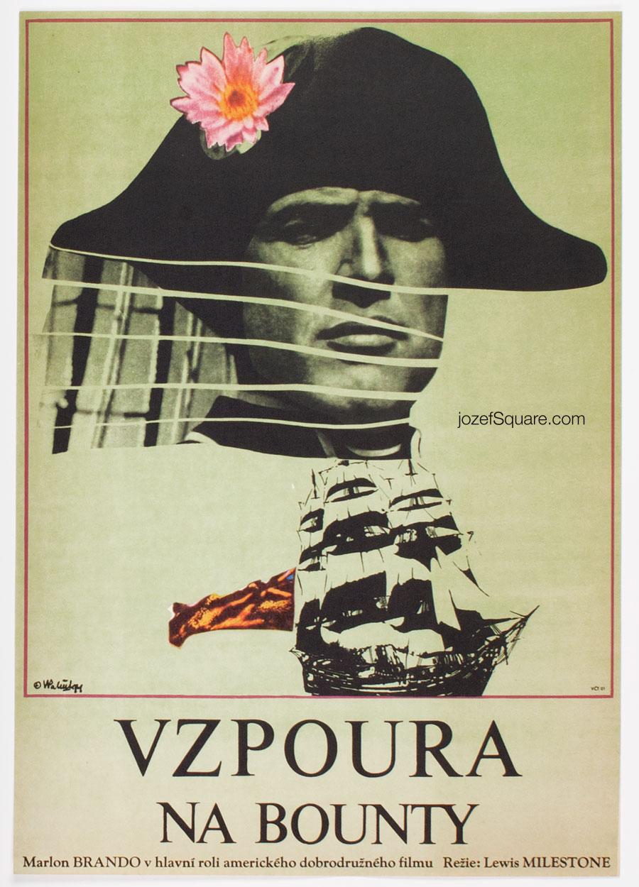 Movie Poster, Mutiny on the Bounty, Vladimir Vaclav Palecek