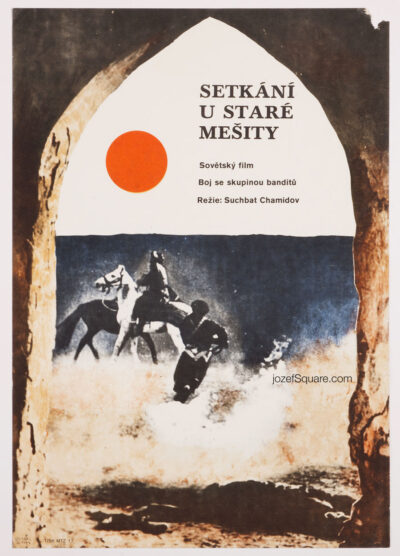 Movie Poster, Meeting at the Old Mosque, Zdenek Virt