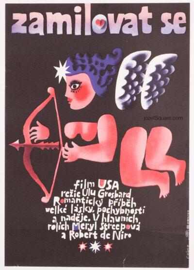 Movie Poster, Falling in Love, Sura, 80s Cinema Art