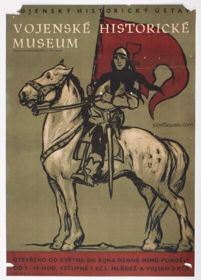 50s Exhibition Poster, Military Historical Museum, Radomir Kolar
