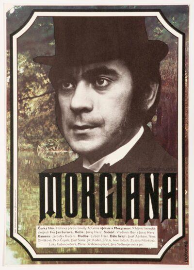 Movie Poster, Morgiana 2, Stanislava Pokorna, 70s Cinema Art