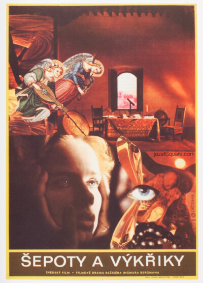 Cries and Whispers, Movie Poster, Karel Lastovka