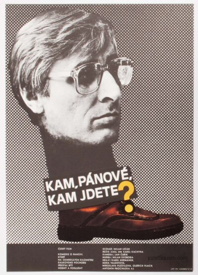 Movie Poster, ‎Where, Gentlemen, Where Are You Going, Jan Tomanek