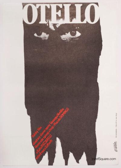 Movie Poster, Othello, Franco Zeffirelli