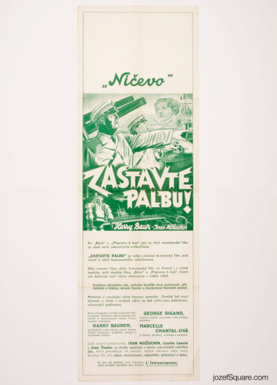 Movie Poster, Nitchevo, Unknown Artist, 30s Cinema Art