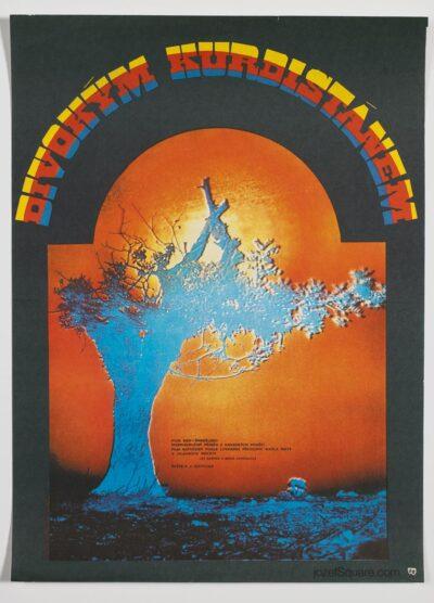 Movie Poster, Wild Kurdistan, Zuzana Minacova, 70s Cinema Art