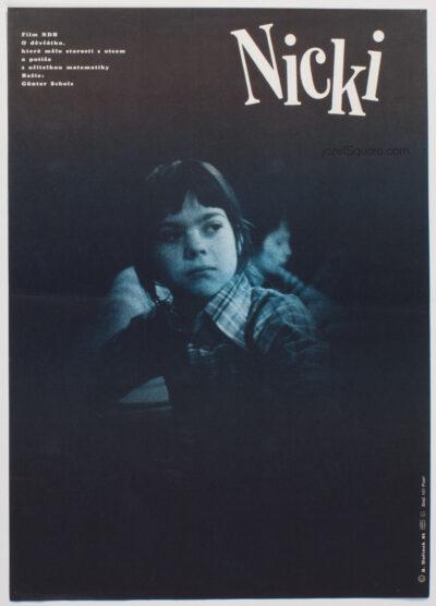 Movie Poster, Nicki, Borivoj Horinek, 80s Cinema Art