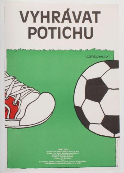 Movie Poster, Winning Quietly, Jan Tomanek, 80s Cinema Art
