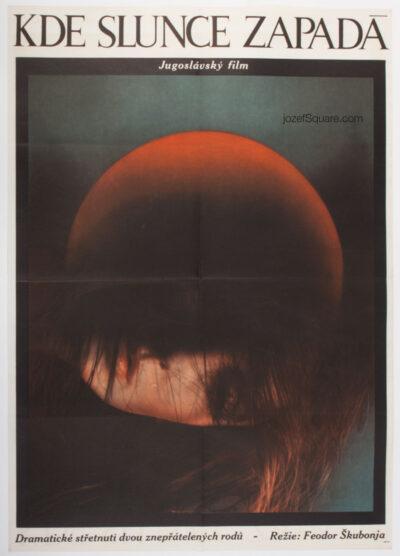 Movie Poster, Downstream from the Sun, Olga Polackova-Vyletalova