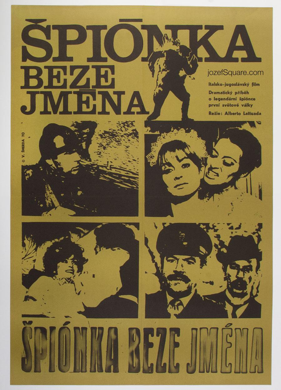 Movie Poster, Fraulein Doktor, Vladimir Smerda, 70s Cinema Art