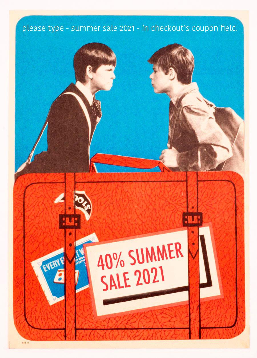 40% Summer Sale 2021, Czechoslovak Poster Archive